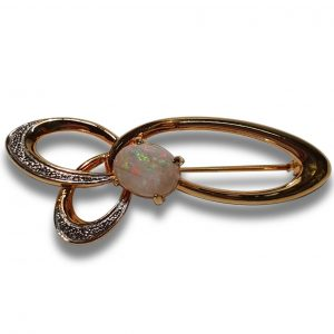 Opal broche for sale | Old Timers Mine