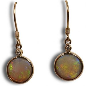 Opal earrings for sale | Old Timers Mine