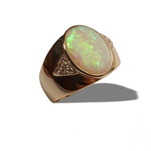 Opal ring for sale   Old Timers Mine