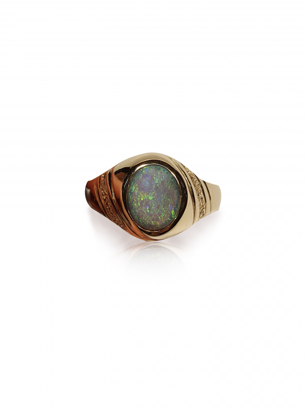 Opal gold ring for sale | Old Timers Mine